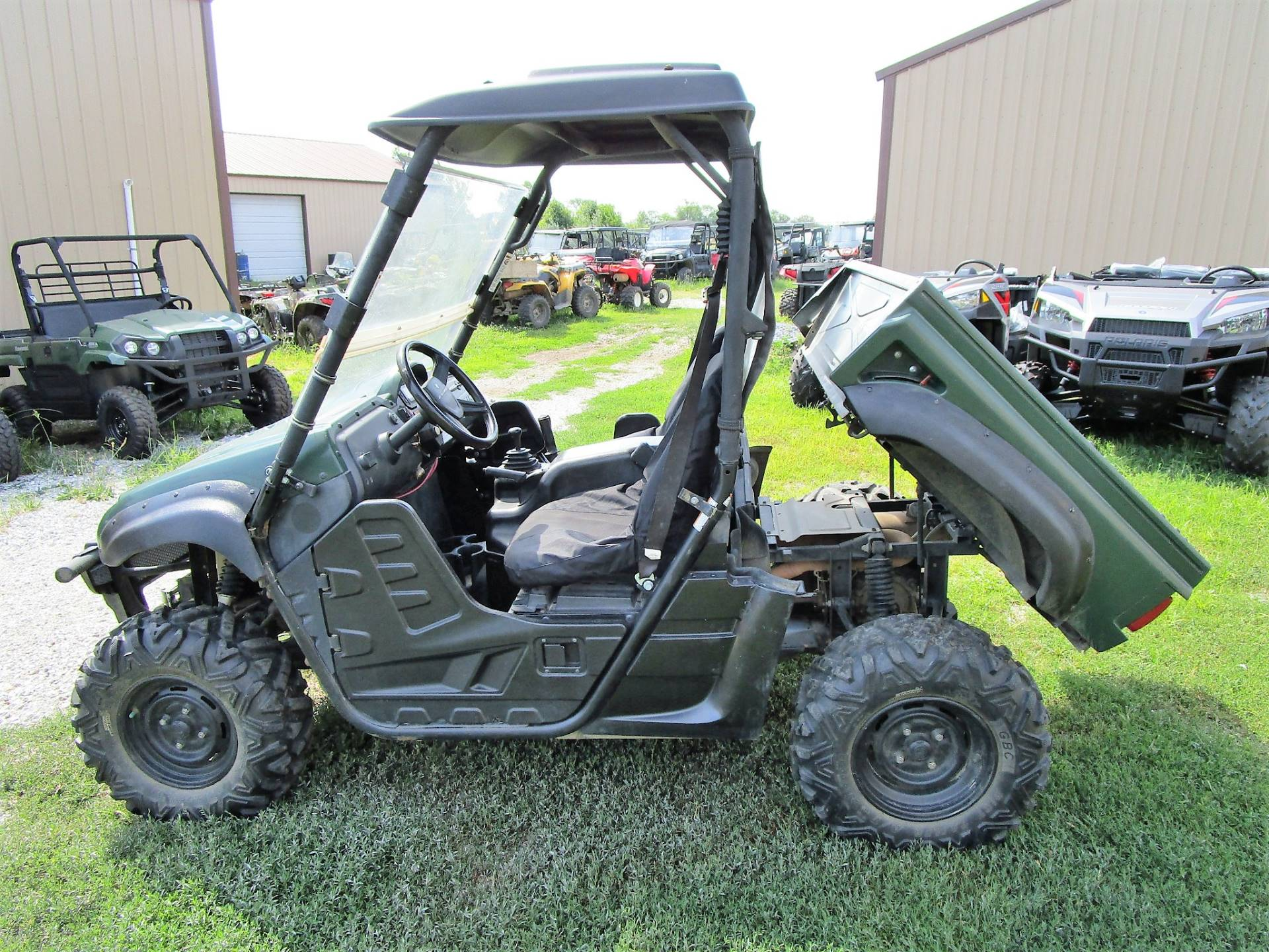 2012 Yamaha Rhino 700 FI Auto. 4x4 in Kirksville, Missouri - Photo 3