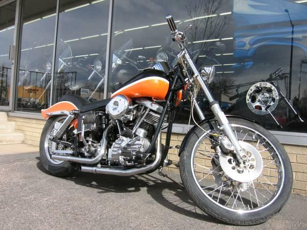 1963 Harley-Davidson Pan Shovelhead in Loveland, Colorado