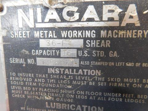 Other Niagra 36F Foot Stomp Shear in Loveland, Colorado - Photo 3