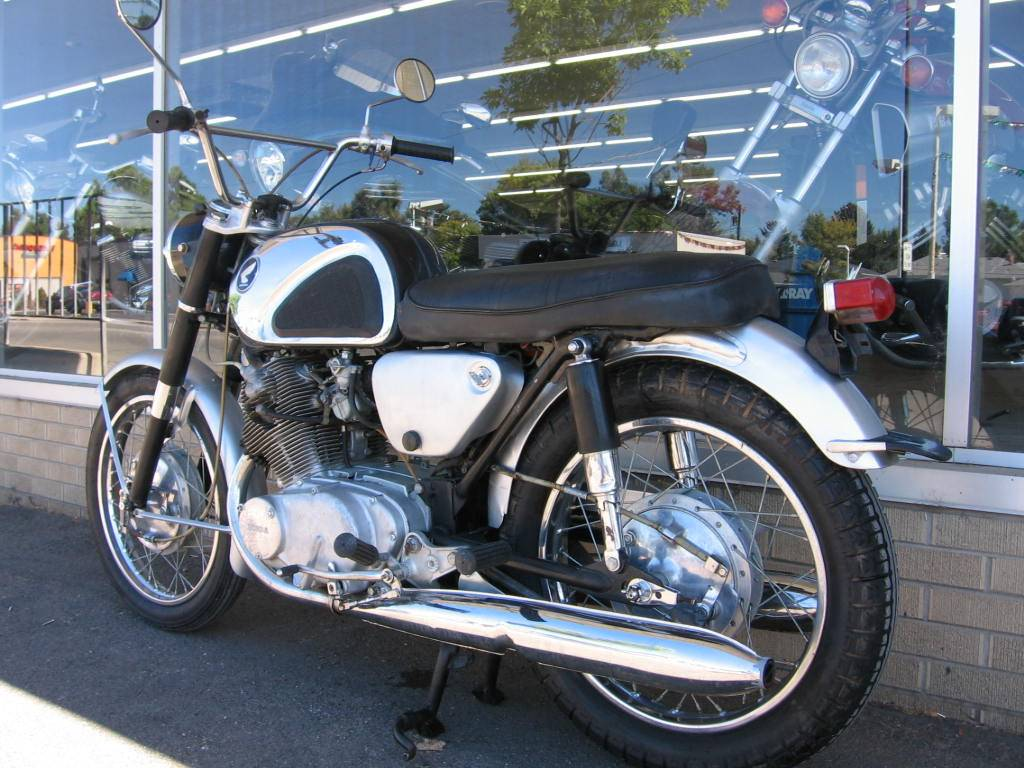 1962 Honda CB77 Super Hawk in Loveland, Colorado
