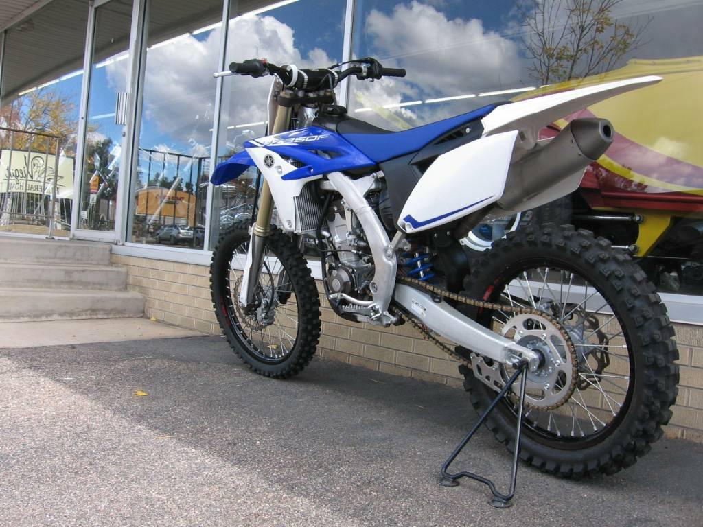 2013 Yamaha YZ250F in Loveland, Colorado