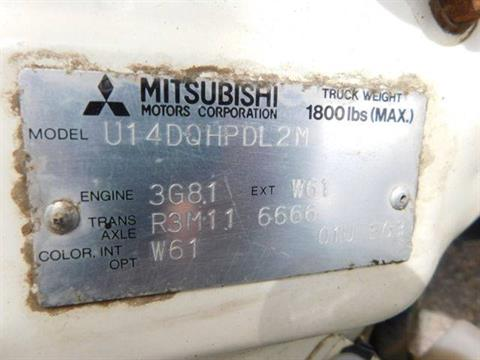 1994 Mitsubishi Mini Mite 76P6 truck in Loveland, Colorado - Photo 6