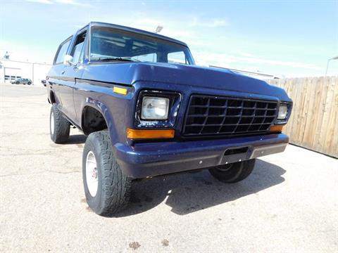 1978 Ford Bronco 4X4 in Loveland, Colorado