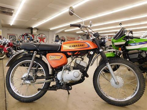 1971 Kawasaki 100 Enduro in Loveland, Colorado