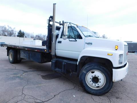 1992 GMC Top Kick 7000 Flat Bed in Loveland, Colorado - Photo 7