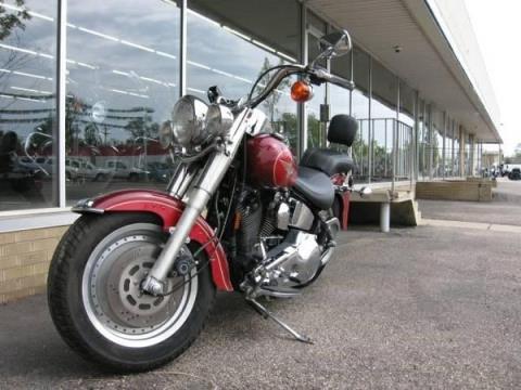 1995 Harley-Davidson FLSTF, Fatboy in Loveland, Colorado