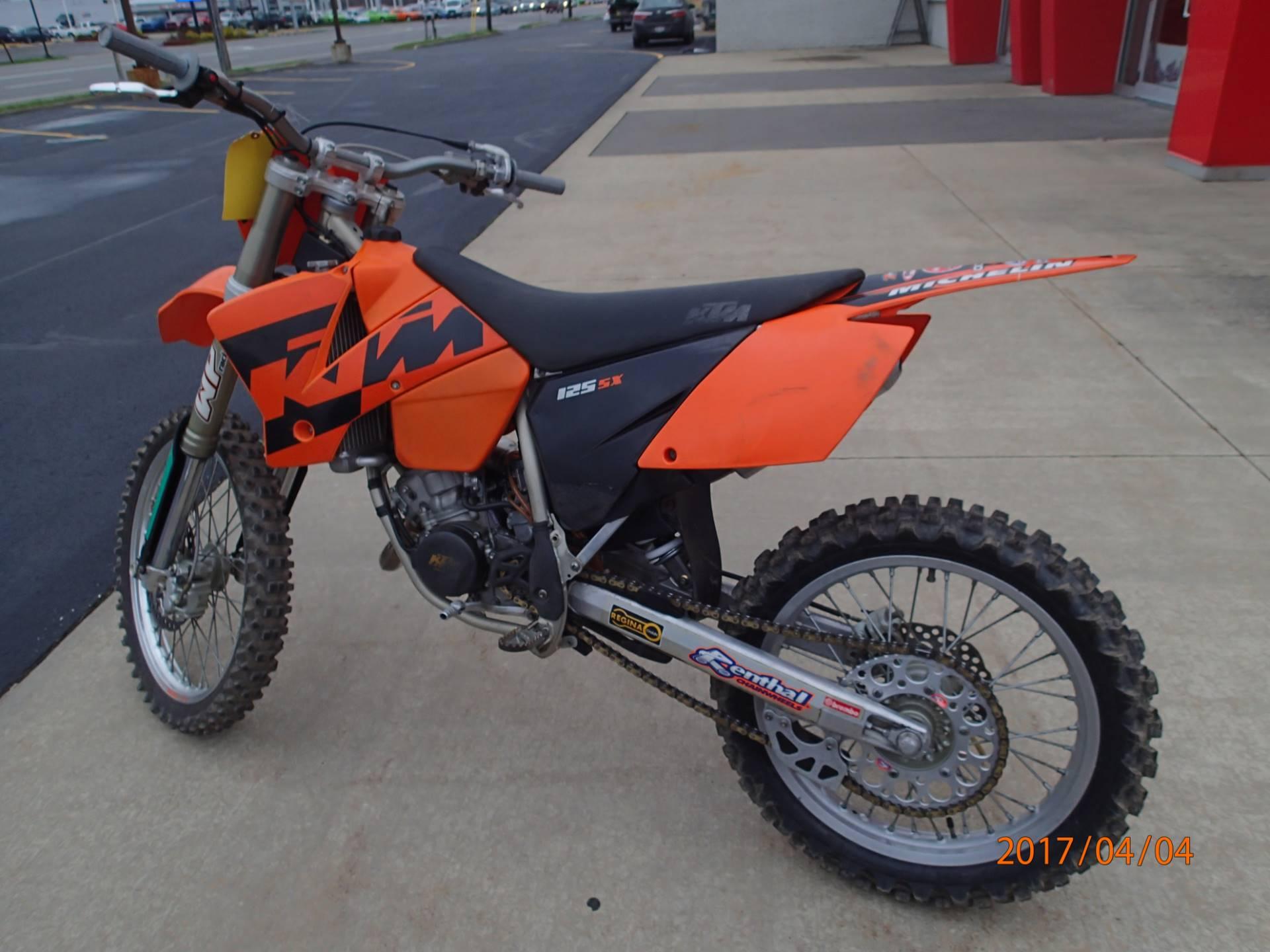 2004 125 SX