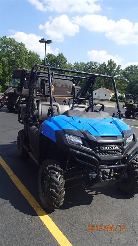 2016 Honda SXS700M4 in Amherst, Ohio