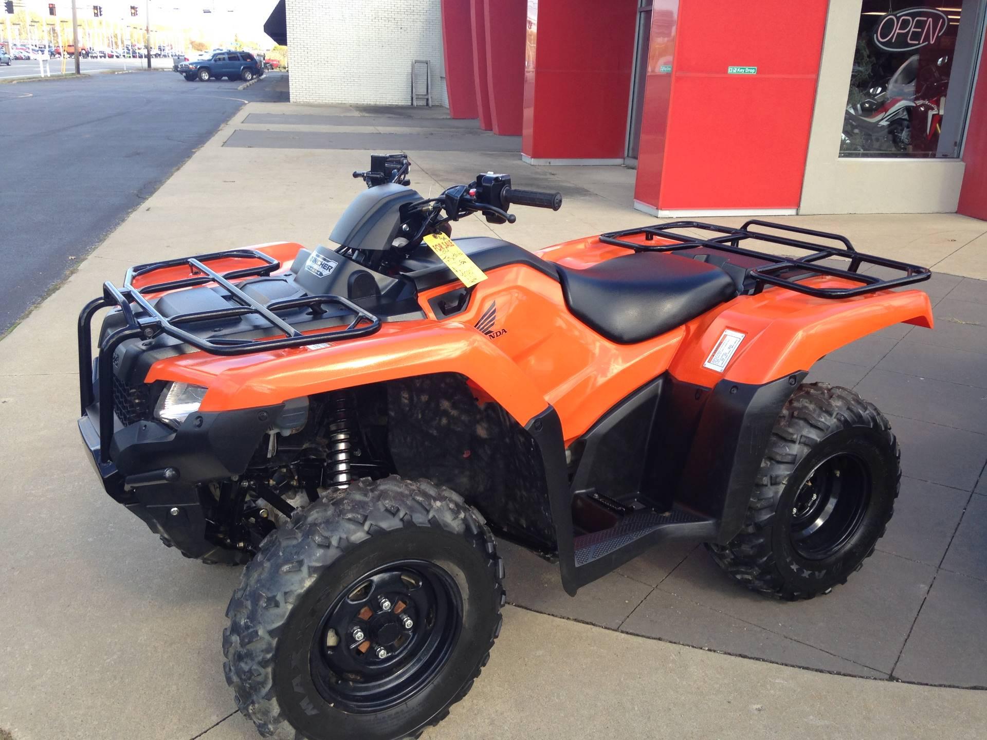 2014 FourTrax Rancher 4x4 DCT
