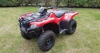 2016 Honda TRX420FPM in Amherst, Ohio