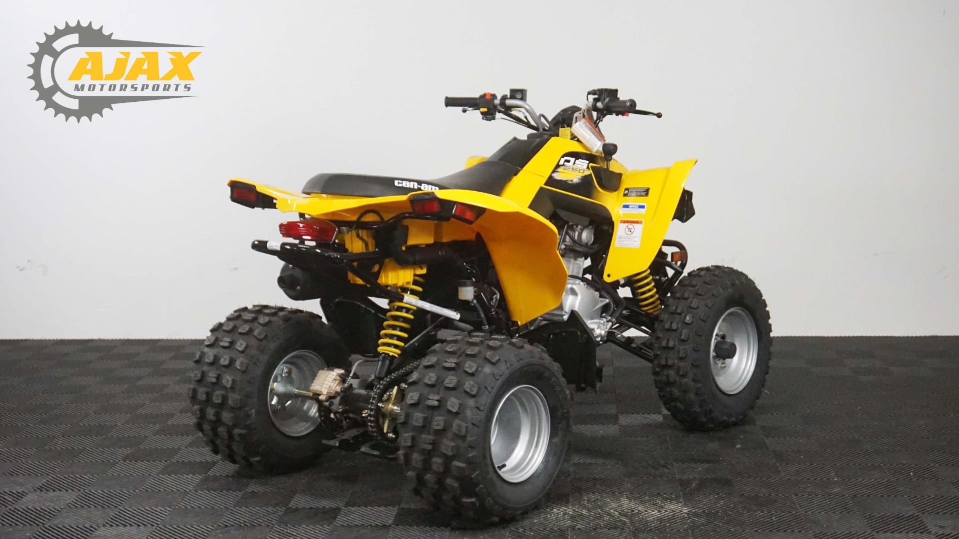 New 2018 Can-Am DS 250 ATVs in Oklahoma City, OK | Stock Number: 023607