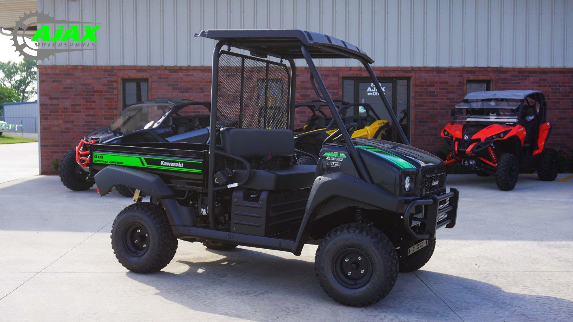 New 2018 kawasaki mule 4010 4x4 se utility vehicles in for Oklahoma tax commission motor vehicle division phone number
