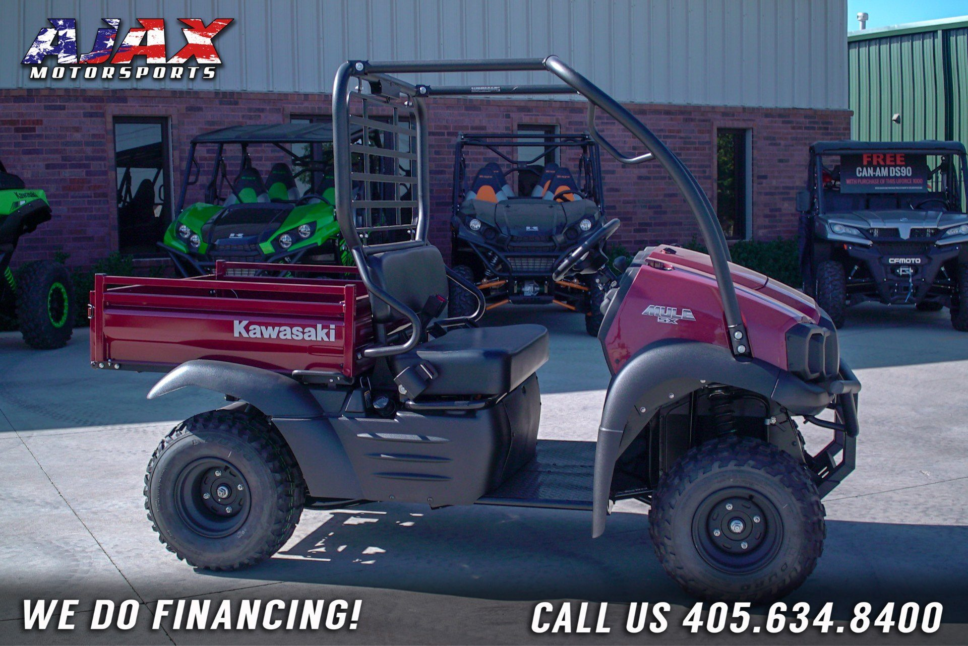 2020 Kawasaki Mule SX in Oklahoma City, Oklahoma - Photo 3