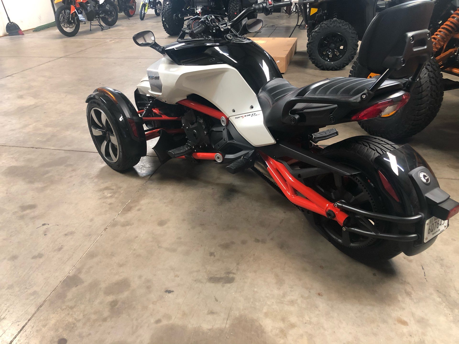2015 Can-Am Spyder® F3-S SM6 in Oklahoma City, Oklahoma - Photo 4
