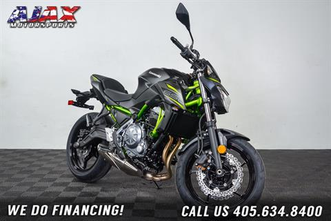 2019 Kawasaki Z650 ABS in Oklahoma City, Oklahoma - Photo 4
