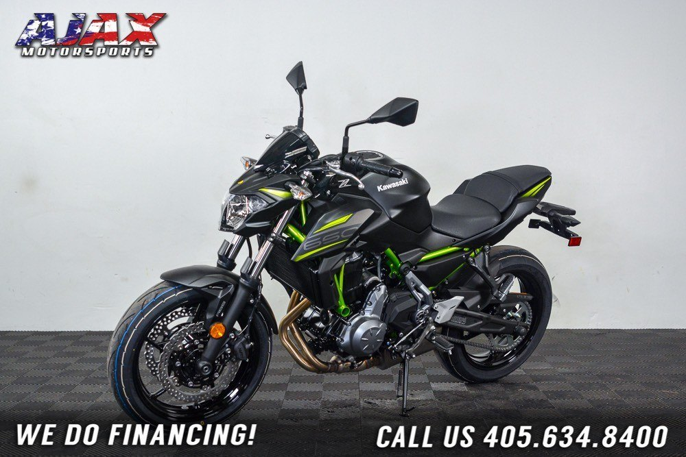 2019 Kawasaki Z650 ABS in Oklahoma City, Oklahoma - Photo 5