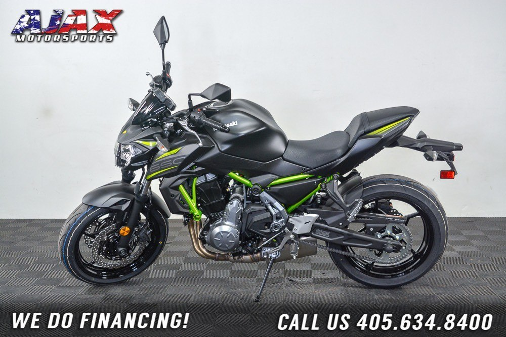 2019 Kawasaki Z650 ABS in Oklahoma City, Oklahoma - Photo 1