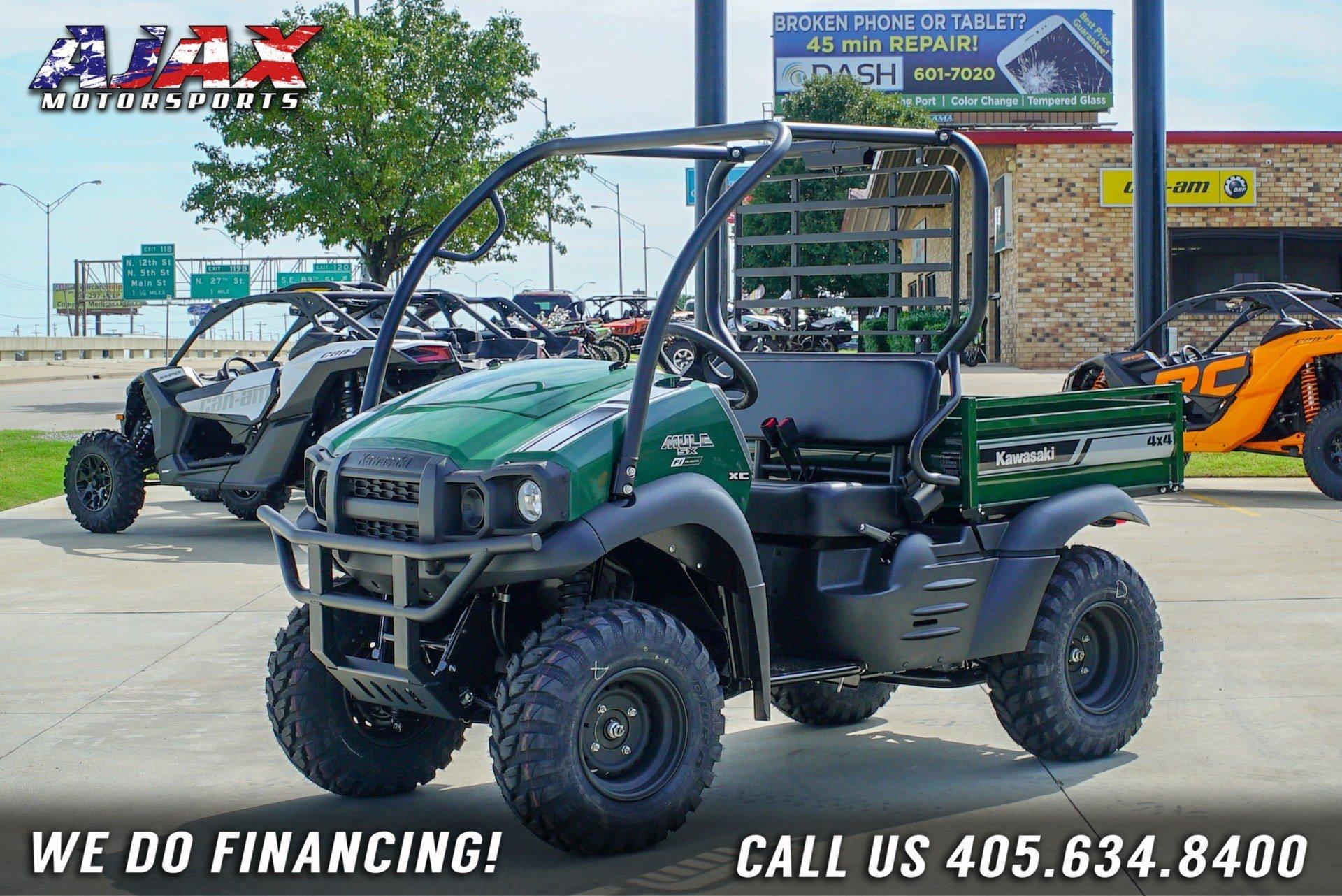 2020 Kawasaki Mule SX 4X4 XC FI for sale 222022