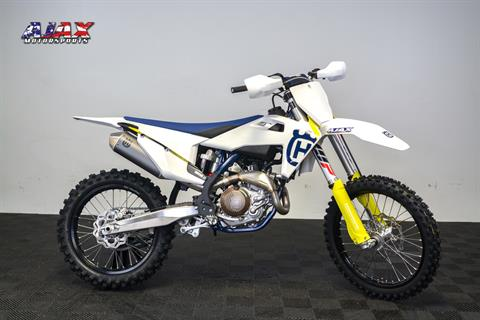 2019 Husqvarna FC 450 in Oklahoma City, Oklahoma - Photo 5
