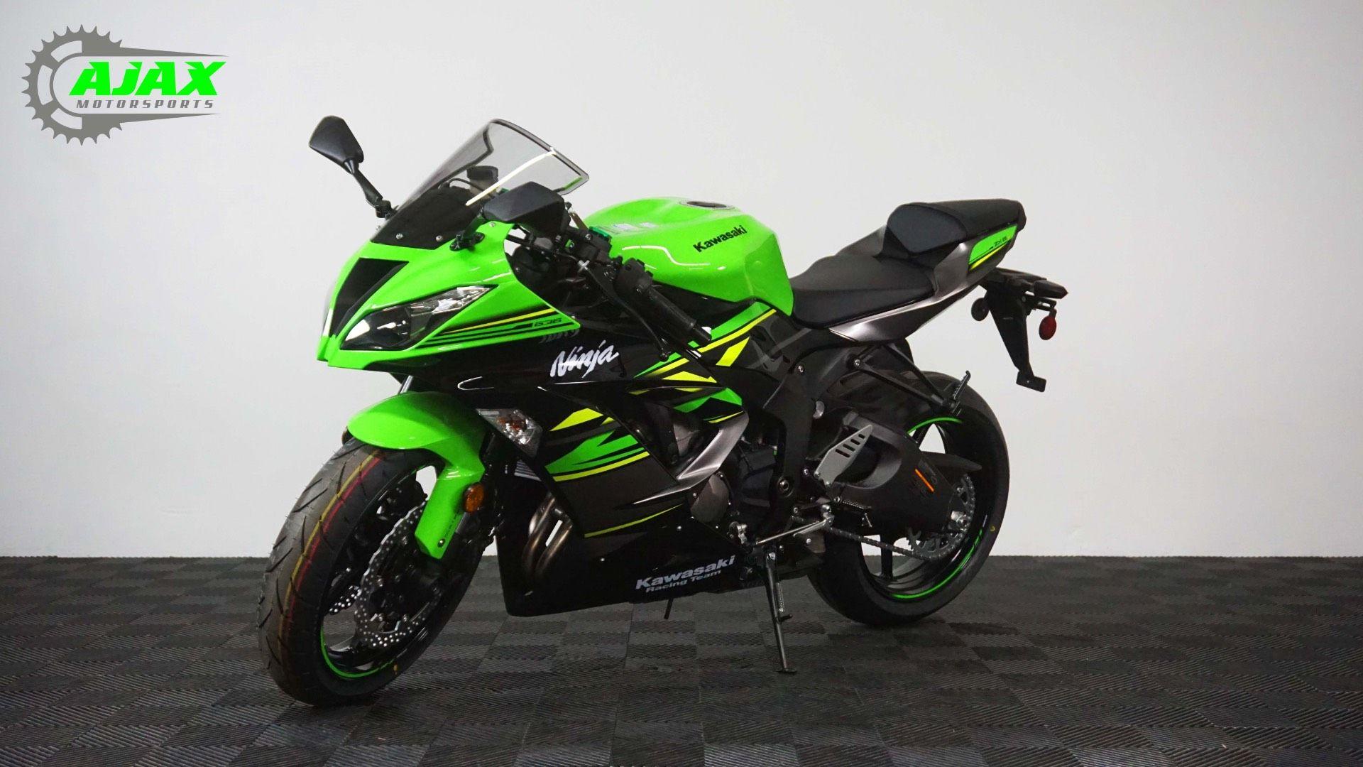 New 2018 Kawasaki NINJA ZX-6R ABS KRT EDITION Motorcycles in ...