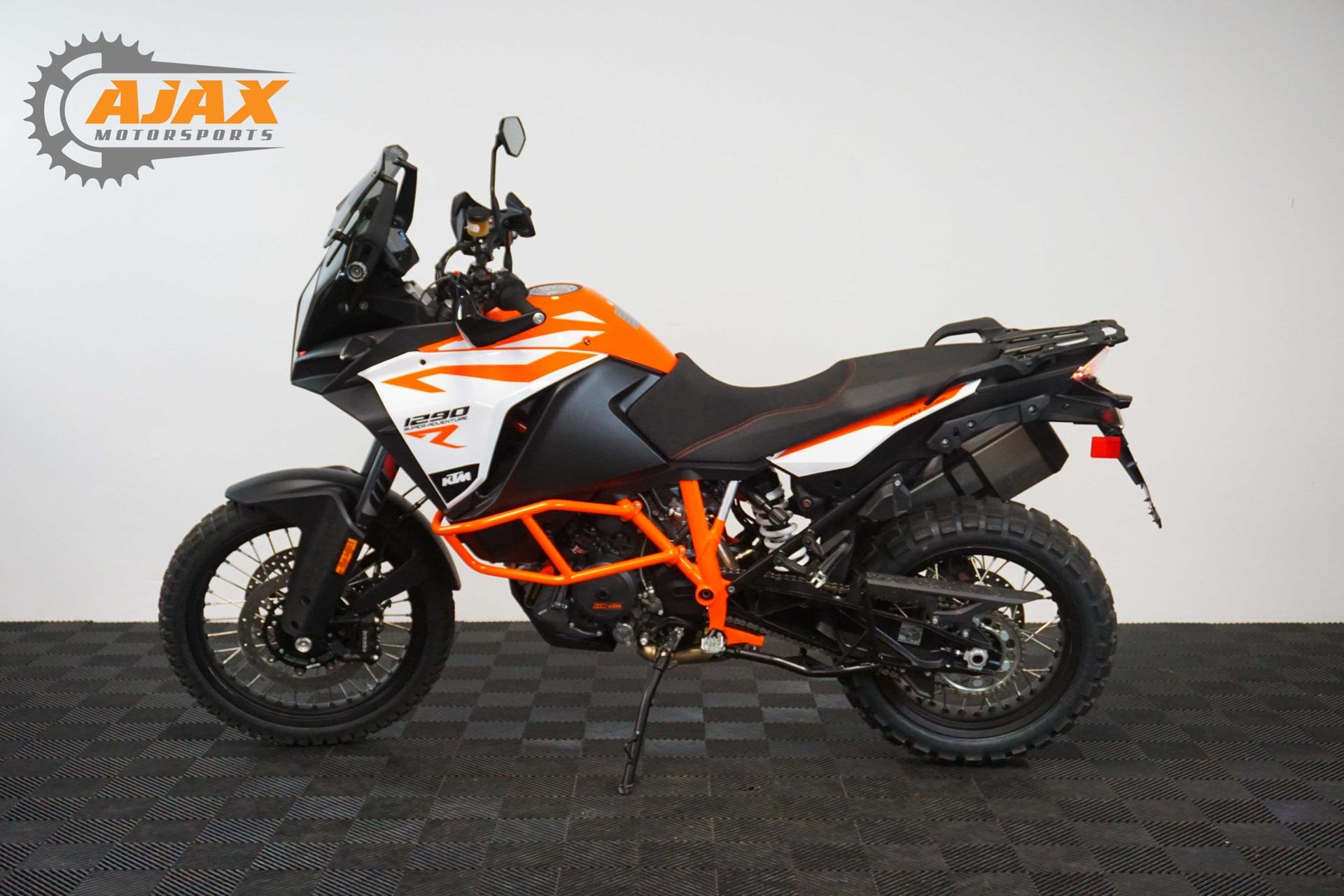 new 2018 ktm 1290 super adventure r motorcycles in. Black Bedroom Furniture Sets. Home Design Ideas