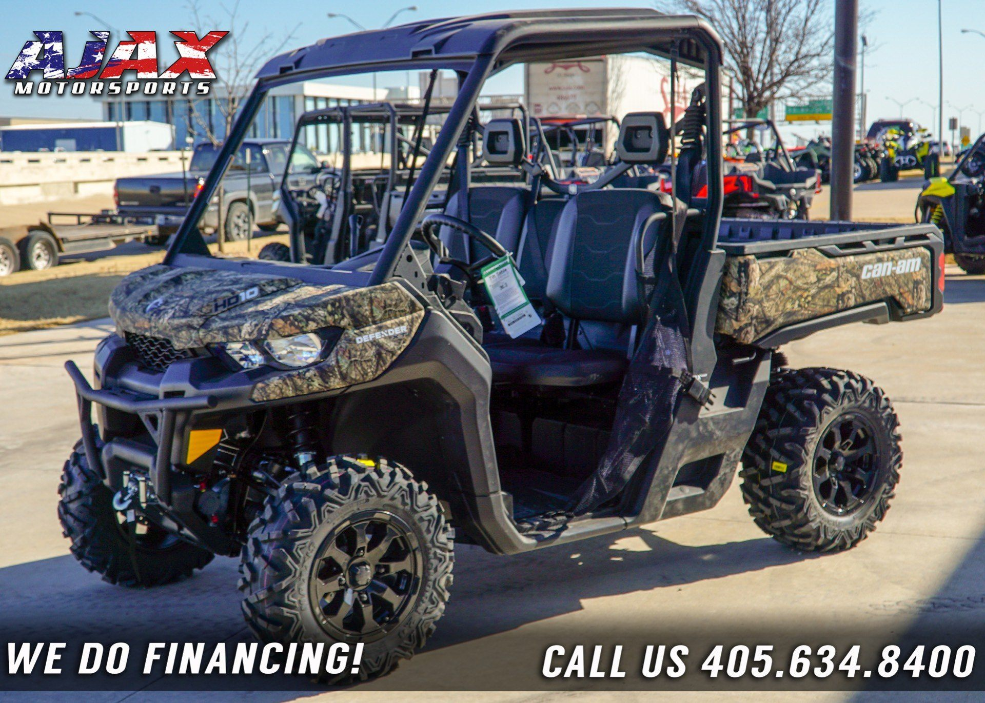 2019 Can-Am Defender XT HD10 in Oklahoma City, Oklahoma - Photo 1