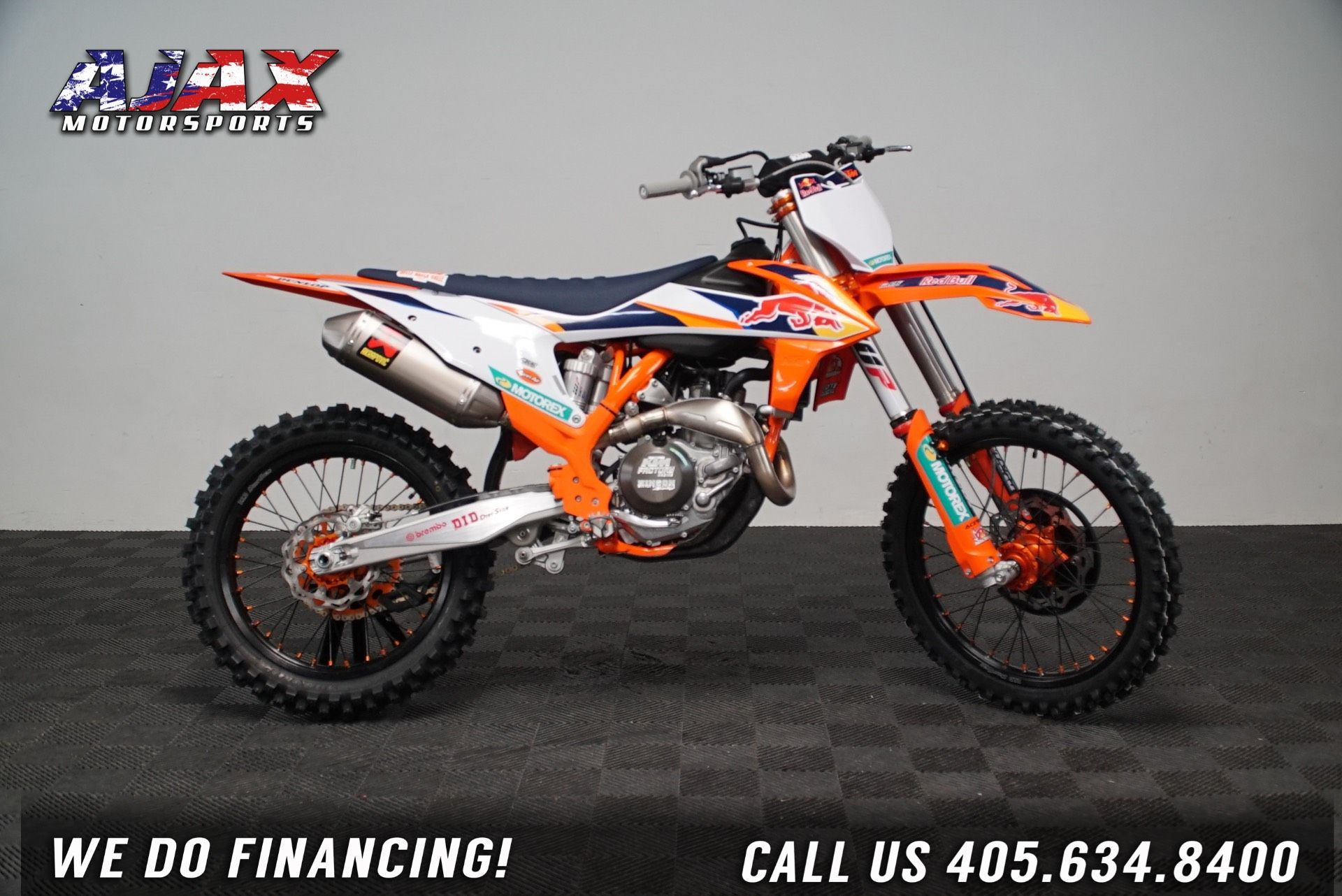 2020 KTM 450 SX-F Factory Edition in Oklahoma City, Oklahoma - Photo 1