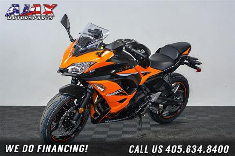 2019 Kawasaki Ninja 650 ABS in Oklahoma City, Oklahoma - Photo 4