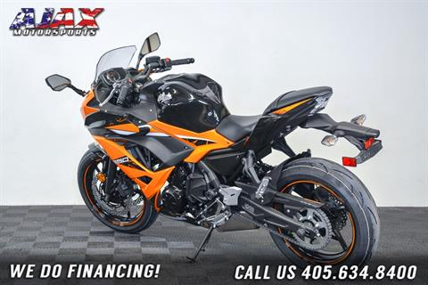 2019 Kawasaki Ninja 650 ABS in Oklahoma City, Oklahoma - Photo 6