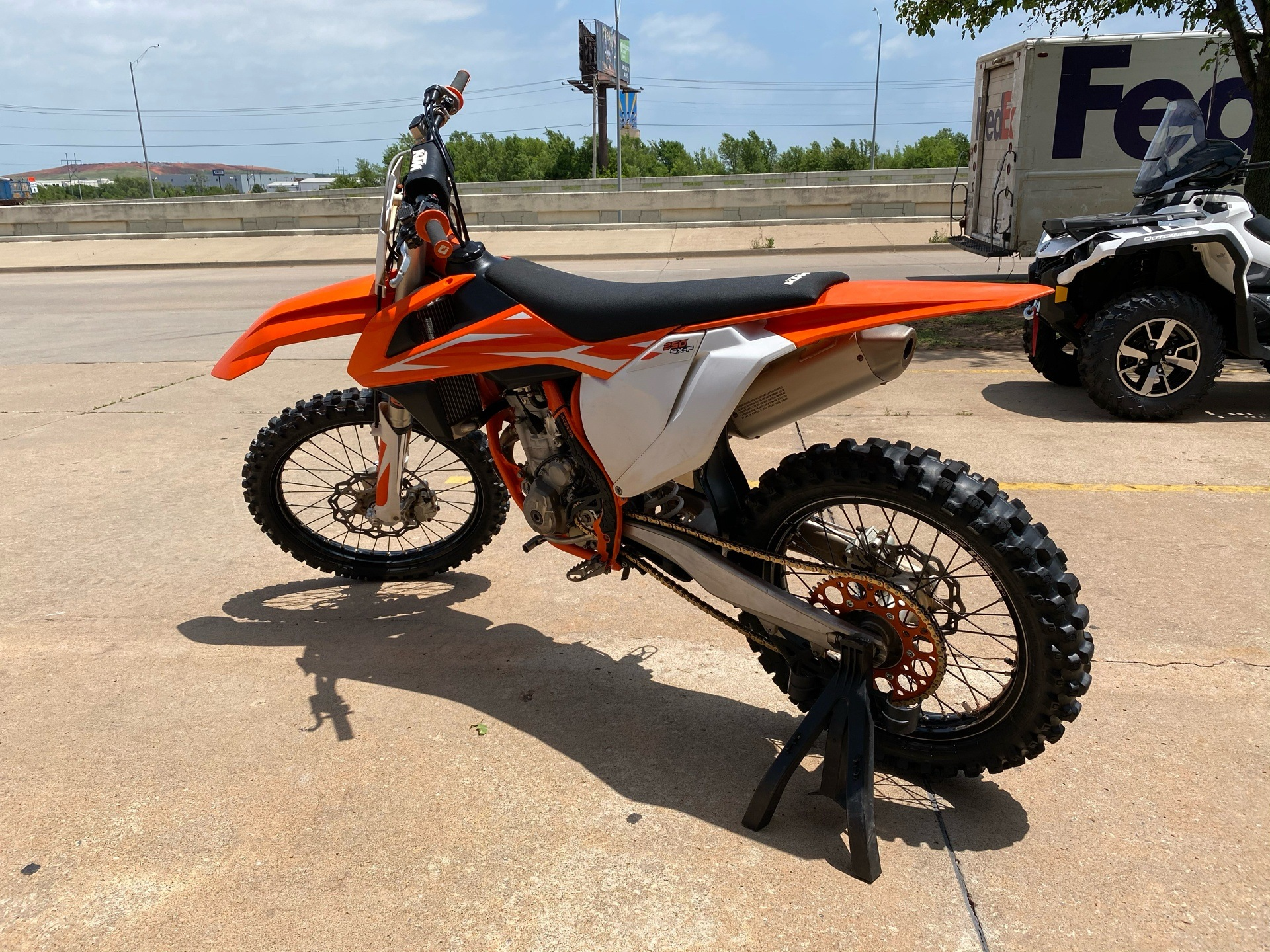 2018 KTM 250 SX-F in Oklahoma City, Oklahoma - Photo 2