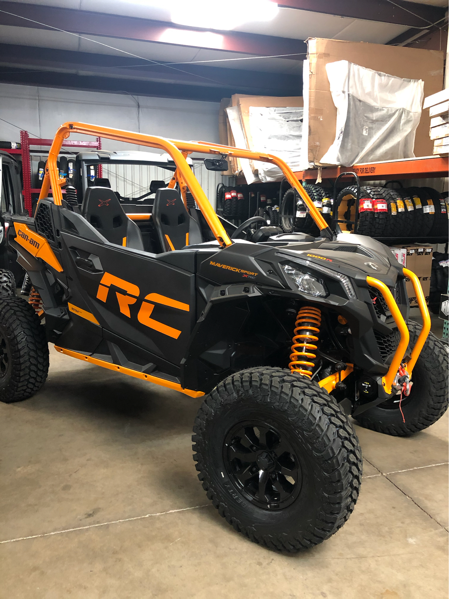 2020 Can-Am Maverick Sport X RC 1000R in Oklahoma City, Oklahoma - Photo 2