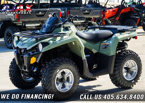 2019 Can-Am Outlander DPS 570 in Oklahoma City, Oklahoma