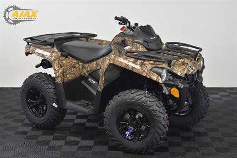 2017 Can-Am Outlander DPS 570 in Oklahoma City, Oklahoma