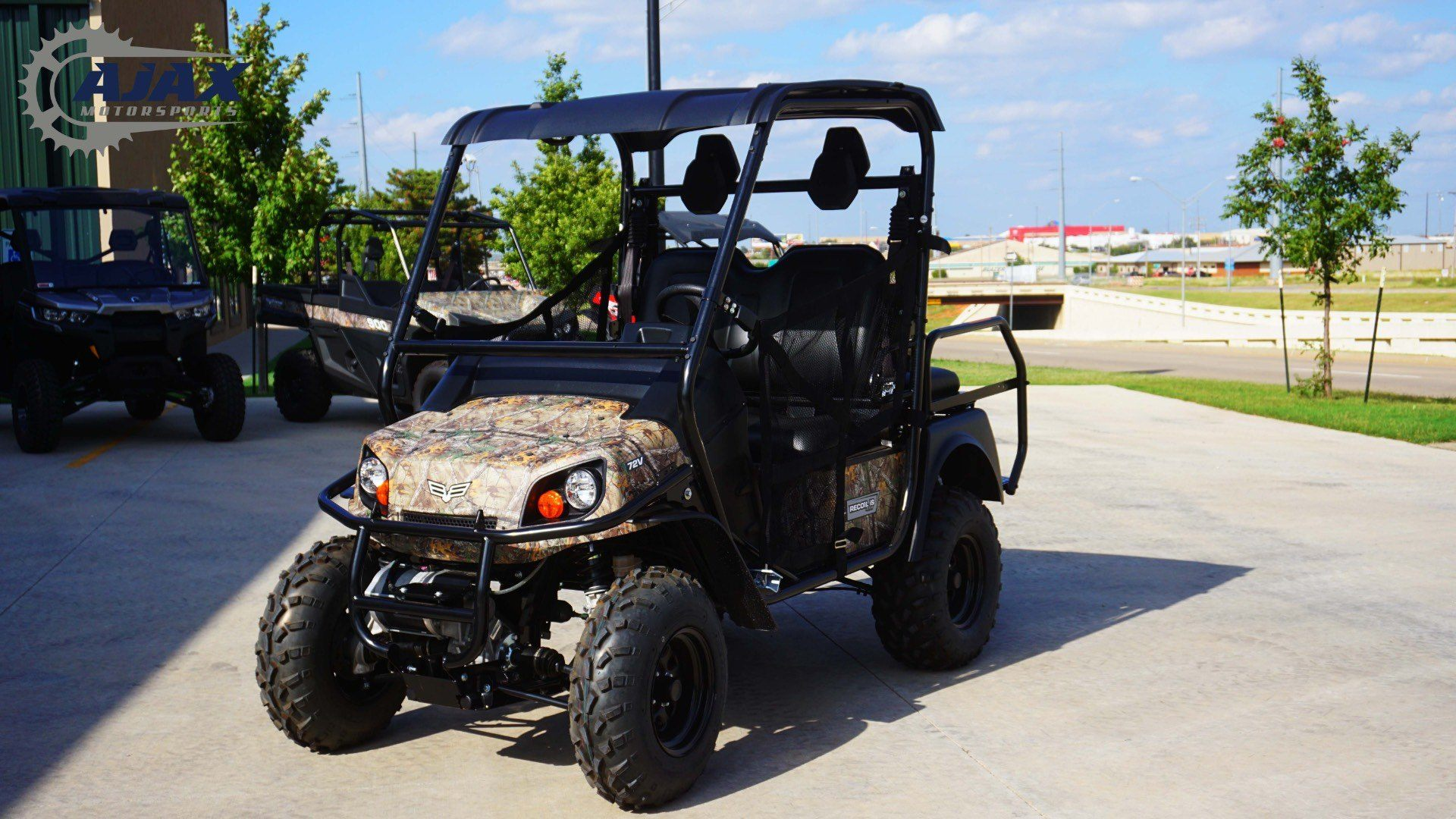 New 2017 bad boy off road recoil is 2 passenger camo for Oklahoma tax commission motor vehicle division phone number