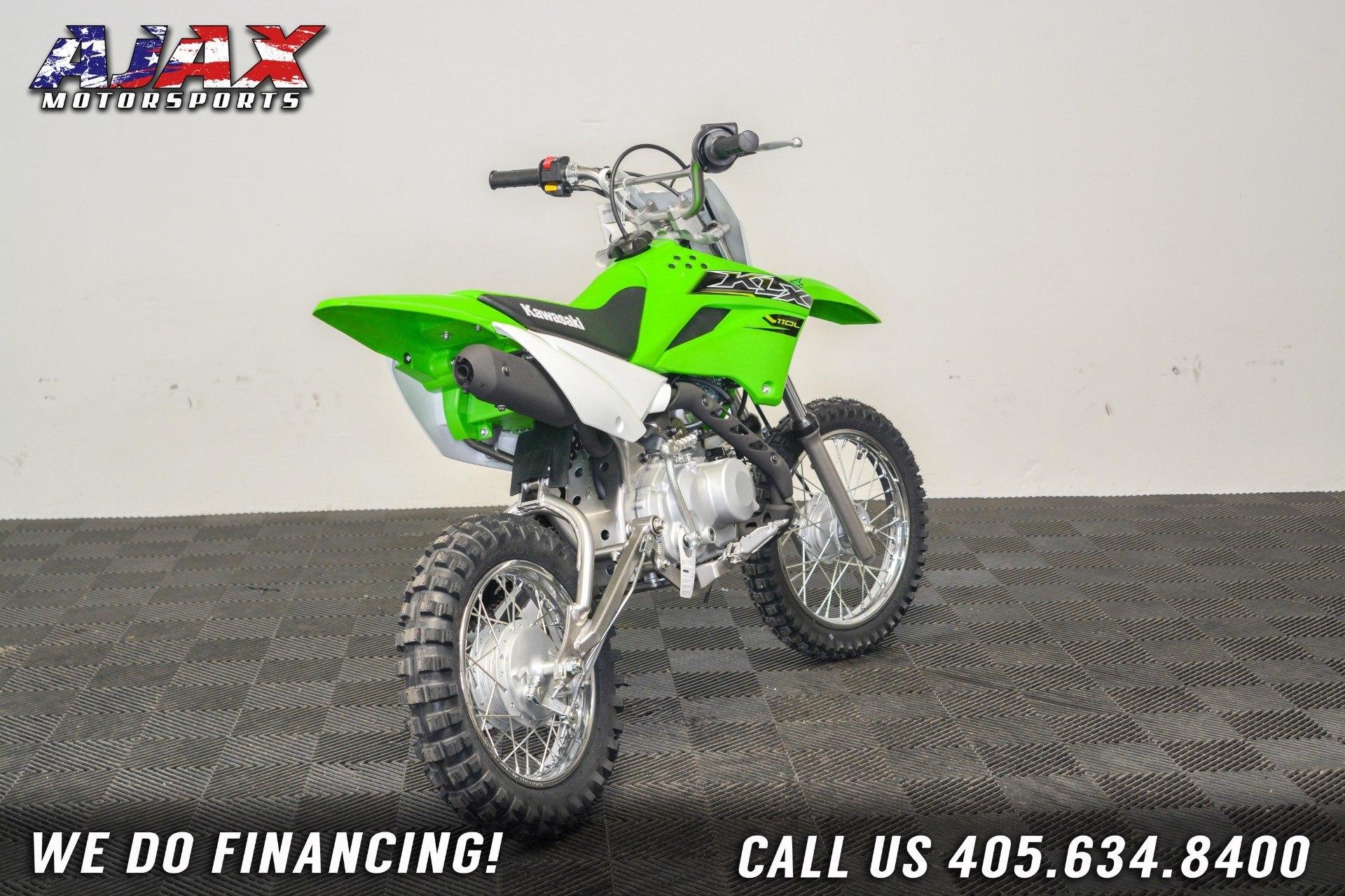 2019 Kawasaki KLX 110L 5