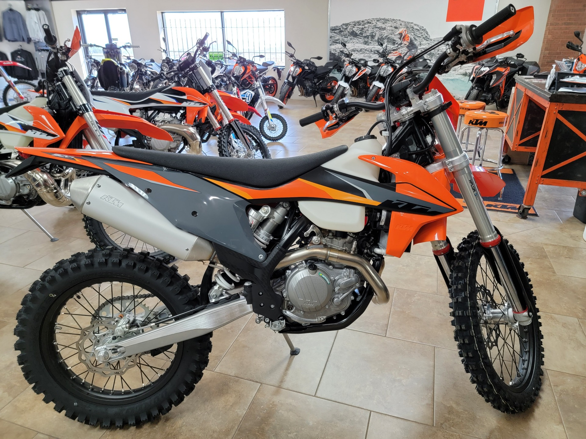 2021 KTM 500 XCF-W in Oklahoma City, Oklahoma - Photo 1