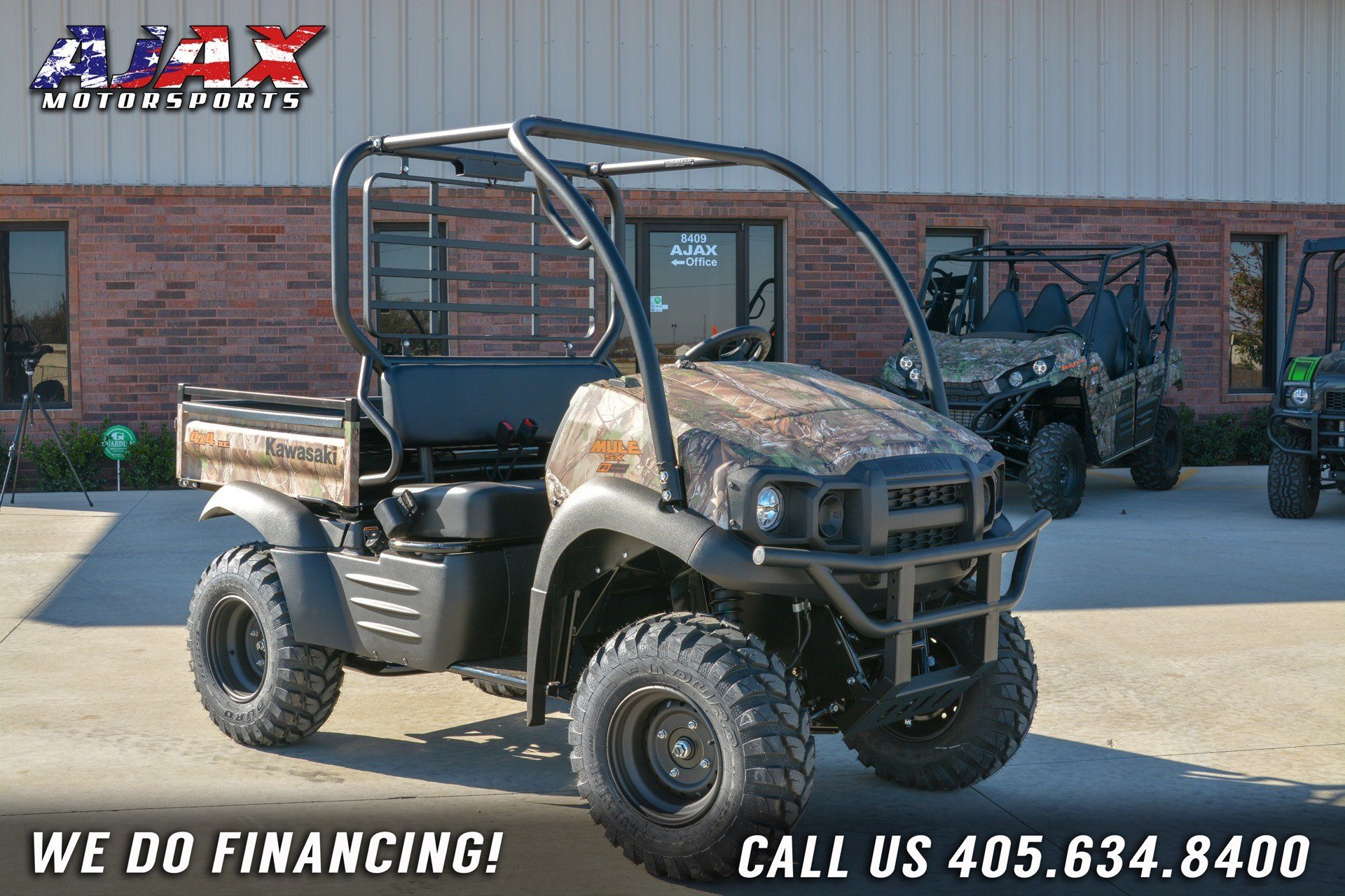 2019 Kawasaki Mule SX 4X4 XC Camo FI for sale 1645