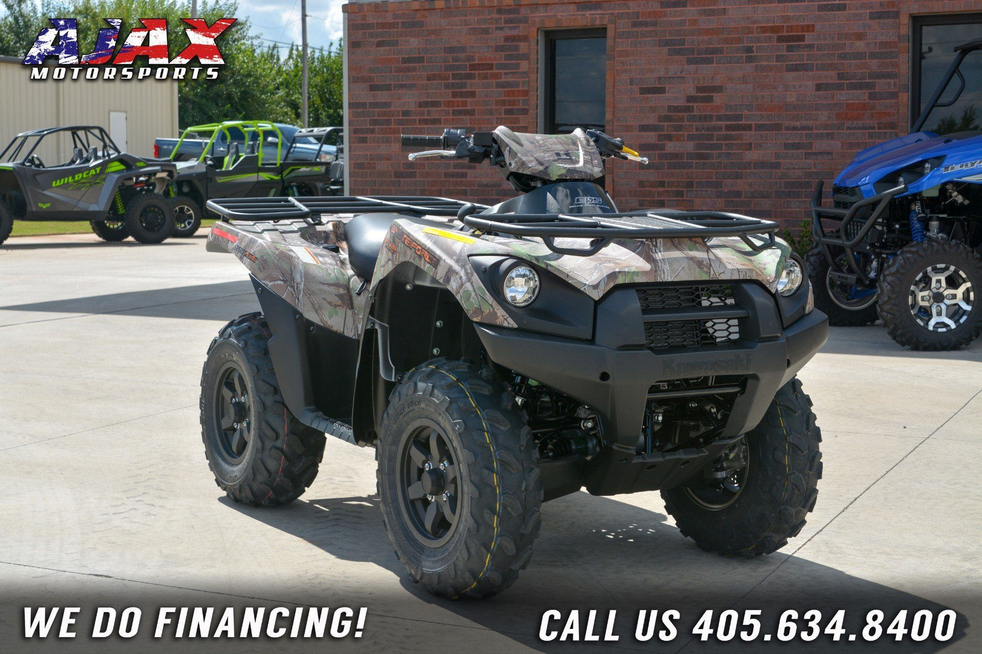 2019 Kawasaki Brute Force 750 4x4i EPS Camo in Oklahoma City, Oklahoma - Photo 3