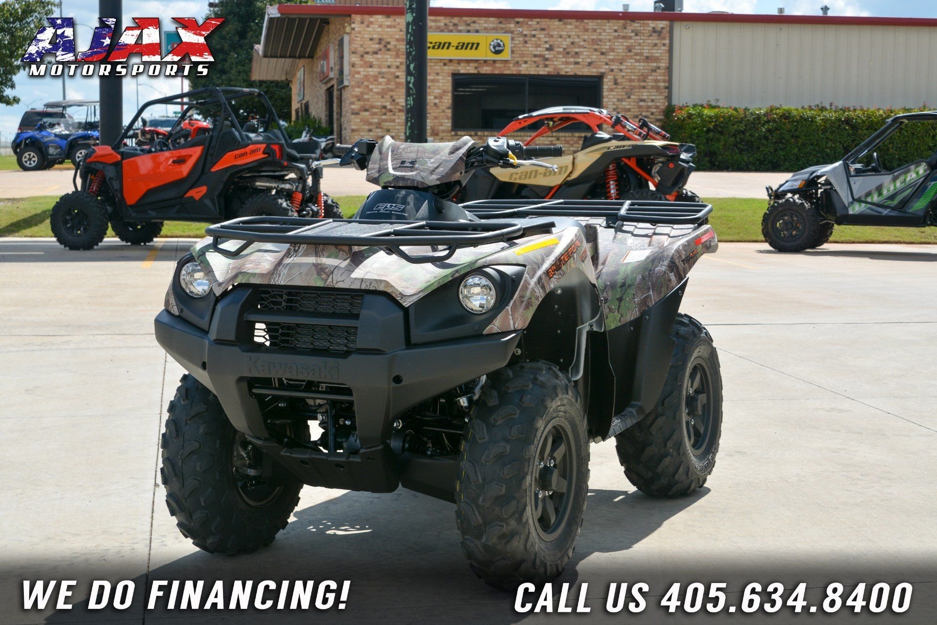 2019 Kawasaki Brute Force 750 4x4i EPS Camo in Oklahoma City, Oklahoma - Photo 7