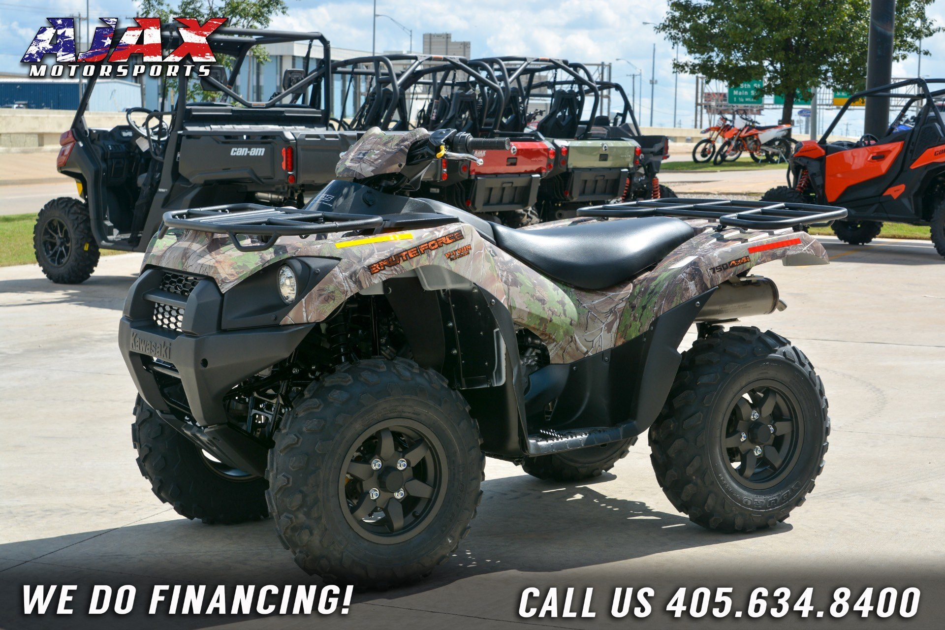 2019 Kawasaki Brute Force 750 4x4i EPS Camo in Oklahoma City, Oklahoma - Photo 8