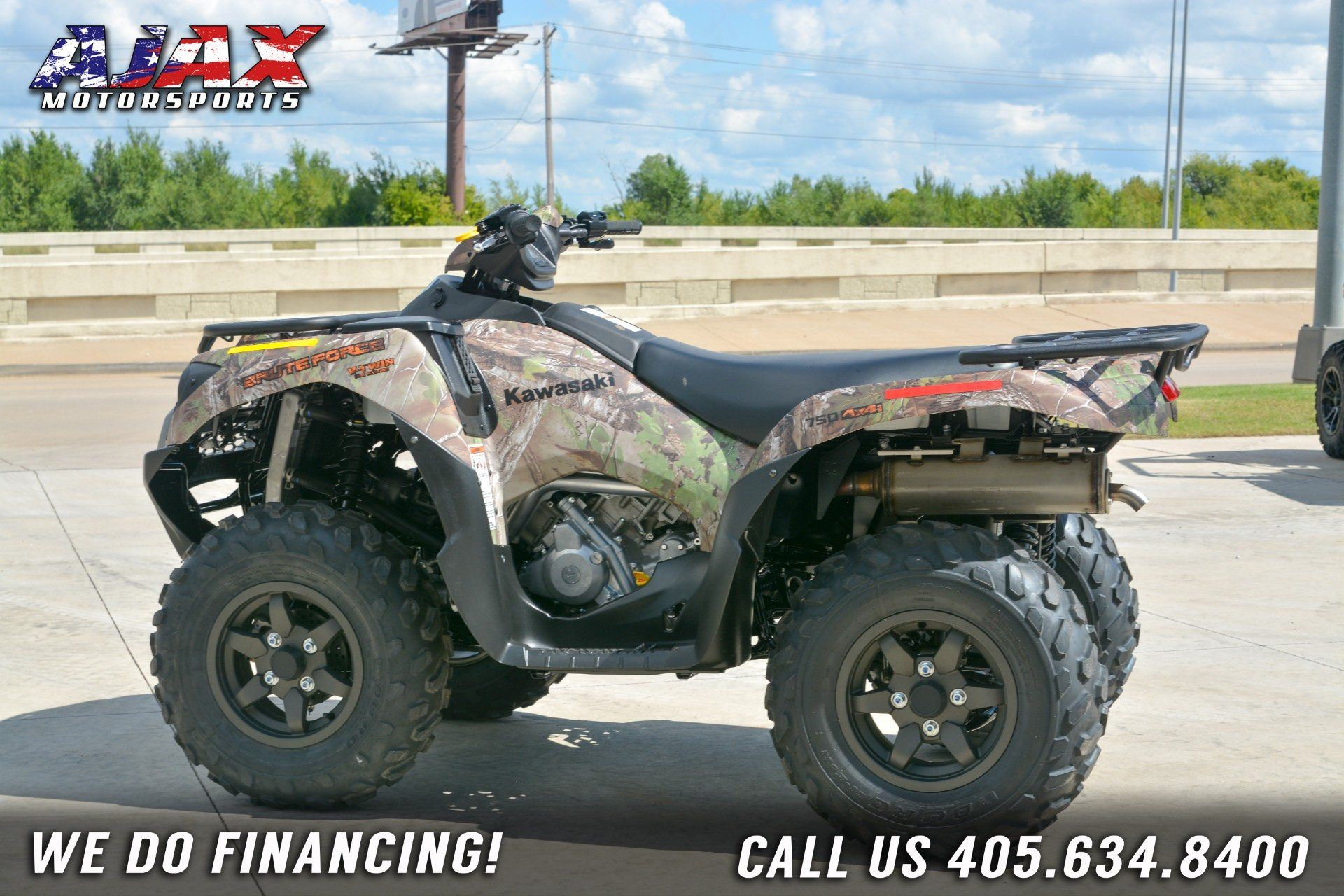 2019 Kawasaki Brute Force 750 4x4i EPS Camo in Oklahoma City, Oklahoma - Photo 9