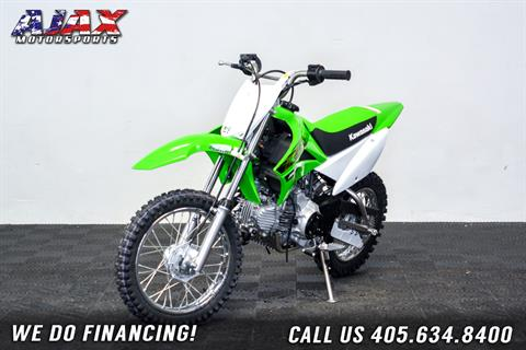 2020 Kawasaki KLX 110 in Oklahoma City, Oklahoma - Photo 3
