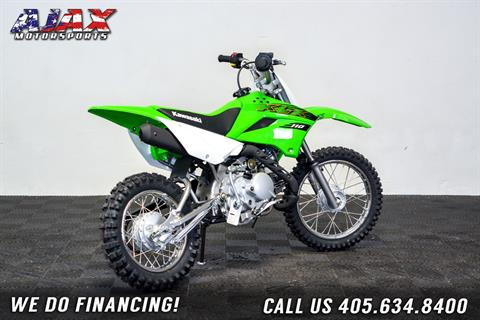 2020 Kawasaki KLX 110 in Oklahoma City, Oklahoma - Photo 6