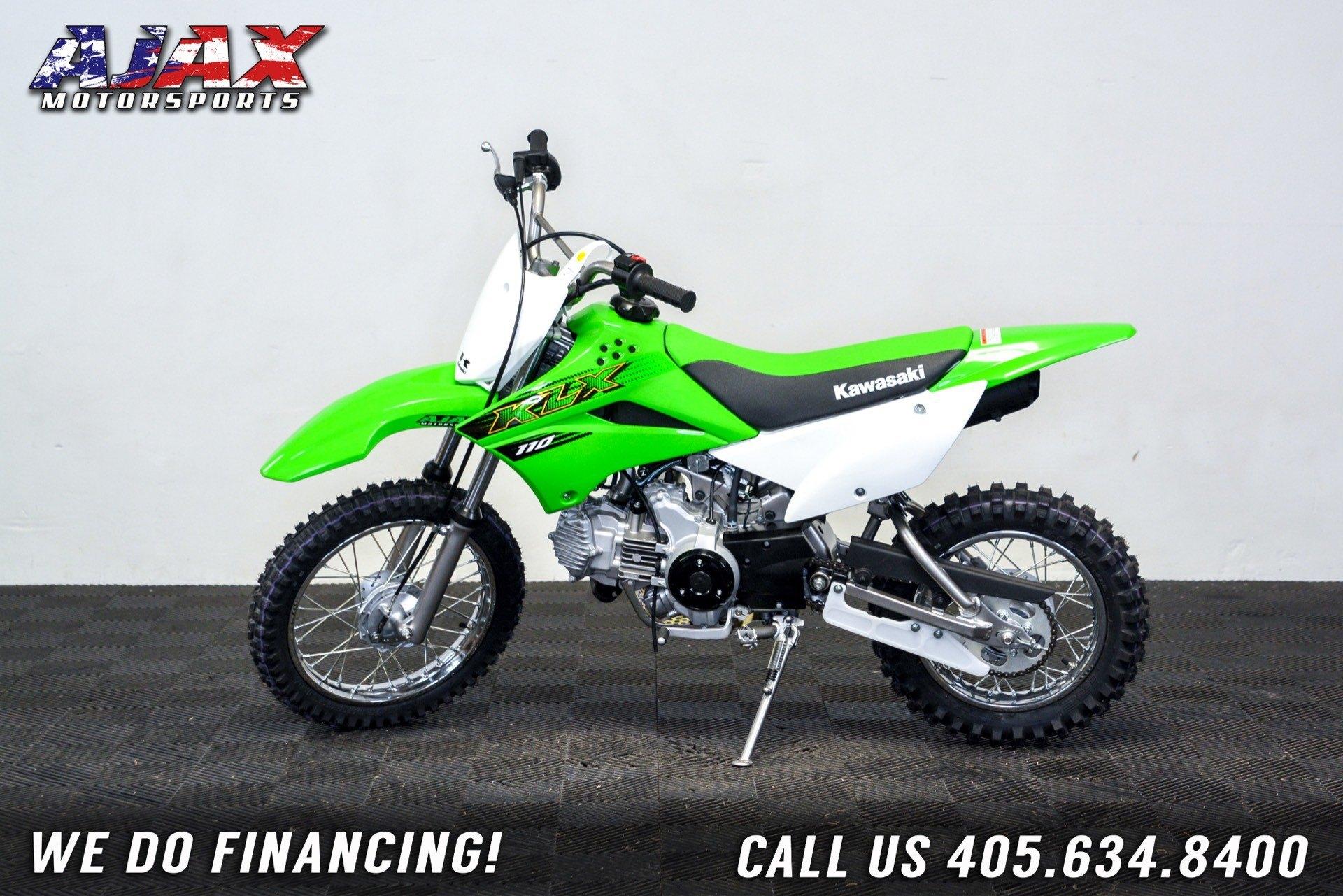 2020 Kawasaki KLX 110 in Oklahoma City, Oklahoma