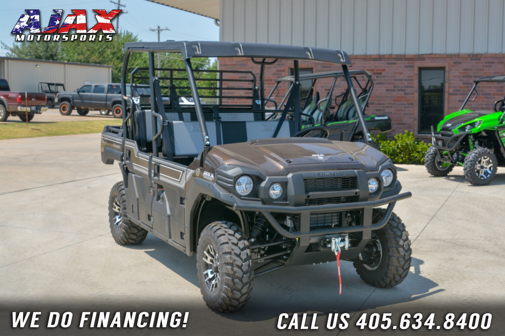 2020 Kawasaki Mule PRO-FXT Ranch Edition in Oklahoma City, Oklahoma - Photo 4