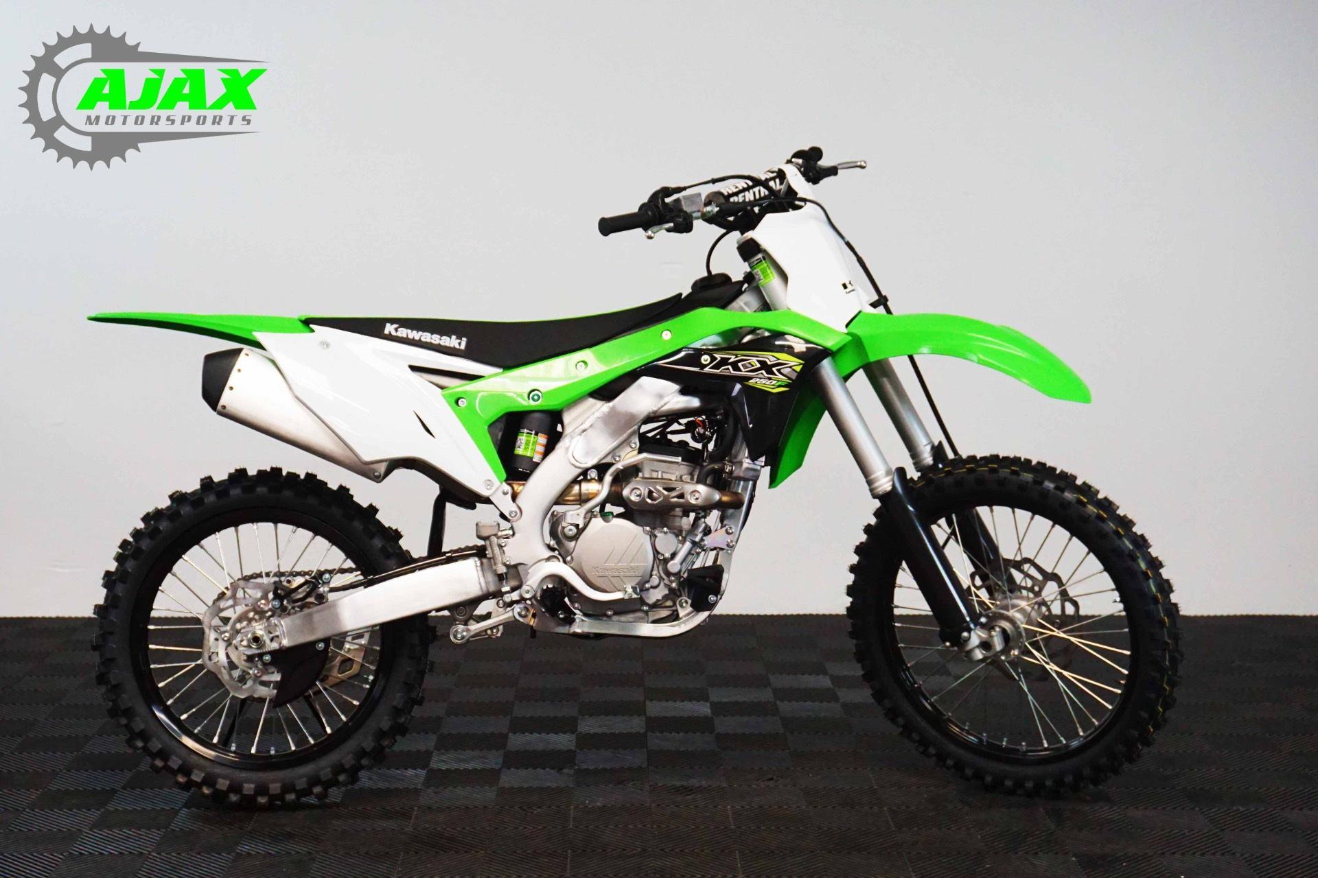 New 2018 Kawasaki KX 250F Motorcycles in Oklahoma City, OK   Stock