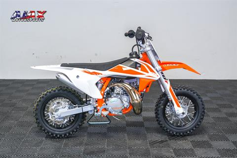 2019 KTM 50 SX Mini in Oklahoma City, Oklahoma