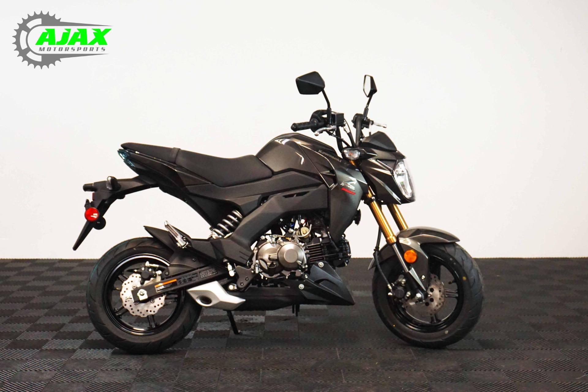 2018 Kawasaki Z125 Pro 8