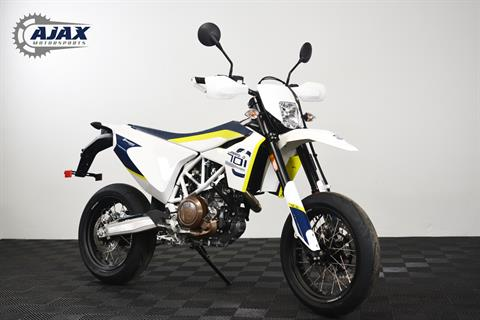 2018 Husqvarna 701 Supermoto in Oklahoma City, Oklahoma
