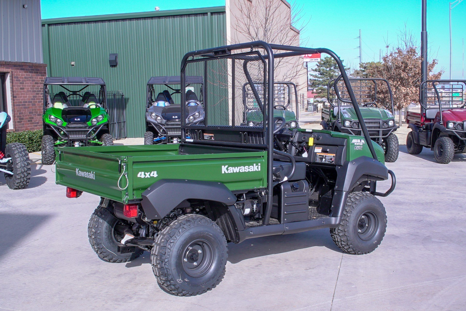 2020 Kawasaki Mule 4010 4x4 in Oklahoma City, Oklahoma - Photo 3